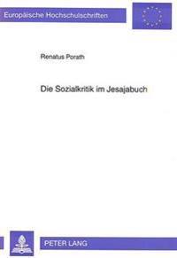 Die Sozialkritik Im Jesajabuch: Redaktionsgeschichtliche Analyse