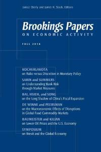 Brookings Papers on Economic Activity: Fall 2016