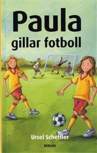 Paula gillar fotboll