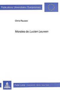 Morales de Lucien Leuwen