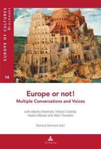 Europe or Not! Multiple Conversations and Voices: With Alberto Martinelli, Vittorio Cotesta, Nadia Urbinati and Alain Touraine