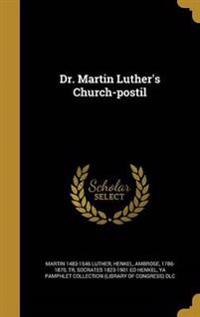 DR MARTIN LUTHERS CHURCH-POSTI