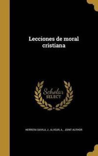 SPA-LECCIONES DE MORAL CRISTIA