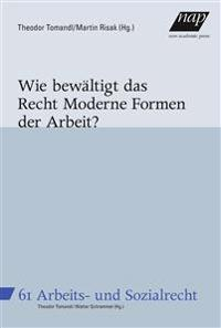 Wie bewältigt das Recht Moderne Formen der Arbeit?
