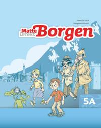 Matte Direkt Borgen Grundbok 5A Ny upplaga