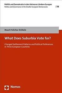 What Does Suburbia Vote For?: Changed Settlement Patterns and Political Preference in Three European Countries