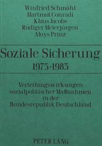 Soziale Sicherung 1975-1985