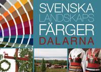 Svenska landskapsfärger Dalarna