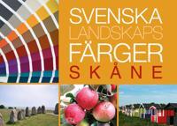 Svenska landskapsfärger Skåne