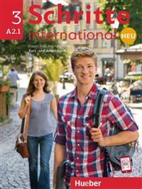 Schritte international Neu 3. Kursbuch + Arbeitsbuch + CD zum Arbeitsbuch