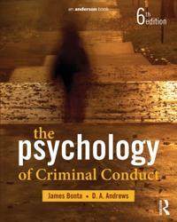 Psychology of Criminal Conduct