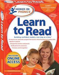 Hooked on Phonics Learn to Read - Level 1: Early Emergent Readers (Pre-K - Ages 3-4)