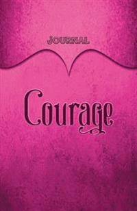 Courage Journal: Pink 5.5x8.5 240 Page Lined Journal Notebook Diary (Volume 1)