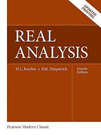 Real Analysis (Classic Version)