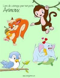 Livre de Coloriage Pour Tout-Petits Animaux 1, 2 & 3