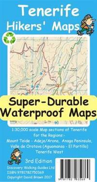 Tenerife Hikers Maps