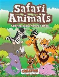 Safari Animals Coloring Books Nature Edition