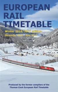 European Rail Timetable Winter: December 2016 - June 2017