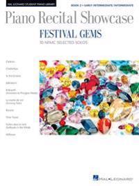 Festival Gems Book 2 - 10 Outstanding Nfmc Early Intermediate/Intermediate Solos: Piano Recital Showcase