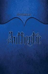 Authentic Journal: Dark Blue 5.5x8.5 240 Page Lined Journal Notebook Diary (Volume 1)