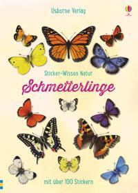 Sticker-Wissen Natur: Schmetterlinge