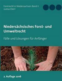 Niedersächsisches Forst- und Umweltrecht
