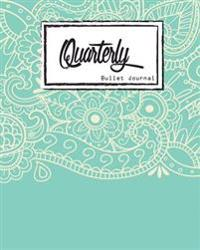 Bullet Journal: Dot Grid, Light Blue Mandala Cover Notebook, 8 X 10, 90 Page: Inspiring Your Ideas and Tips for Hand Lettering Your Ow