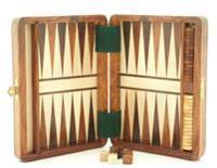 Backgammon : magnetiskt