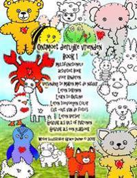 Ontmoet Dierlijke Vrienden Book 1 Multifunctionele Activiteit Boek Voor Kinderen Verbinding Te Maken Met de Natuur Leren Tekenen Learn to Outline Lere