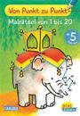 Pixi kreativ Nr. 80: VE 5 Von Punkt zu Punkt: Malrätsel von 1 bis 20