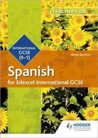 Edexcel International GCSE Spanish Teacher's CD-ROM Second Edition