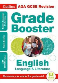 AQA GCSE English Language And English Literature Grade Booster for grades 4-9