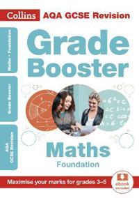 AQA GCSE Maths Foundation Grade Booster for grades 3-5