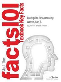 Studyguide for Accounting by Warren, Carl S., ISBN 9781285720517