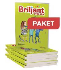 Briljant svenska Textbok 1, paket 10 ex