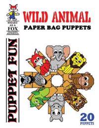 Wild Animal Paper Bag Puppets