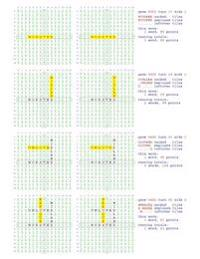 Fifty Scrabble Box Scores Games 5901-5950