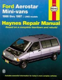 Ford Aerostar Mini-vans, 1986-1997