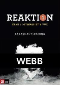 Reaktion Kemi 1 Lärarhandledning Webb