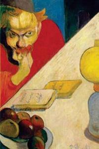 Portrait of Meyer de Haan by Lamplight by Paul Gauguin - 1889: Journal (Blank