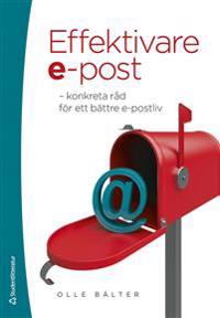 Effektivare e-post