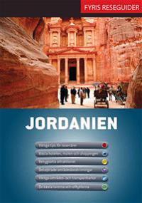 Jordanien med karta