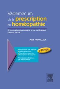 Vademecum de la prescription en homeopathie