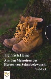 Aus Den Memoiren Des Herren Von Schnabelewopski (Grossdruck)