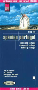 Reise Know-How Landkarte Spanien, Portugal 1:900.000