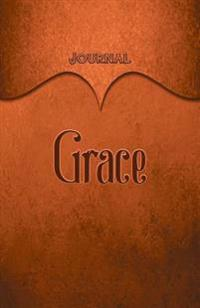 Grace Journal: Orange 5.5x8.5 240 Page Lined Journal Notebook Diary (Volume 1)