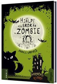 Hjälp min bror är en zombie (Bok+CD)