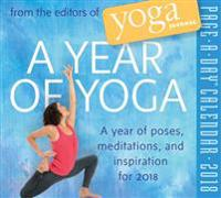 A Year of Yoga 2018 Calendar