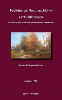 Beytrage Zur Naturgeschichte Des Niederlausitz
