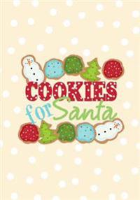 Cookies for Santa: Blank Recipe Book Journal-Recipe Keeper